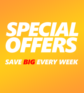 Special Offers save BIG, every week