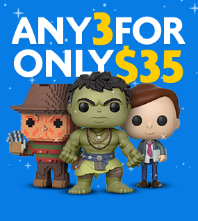 Funko Pop Vinyl Figures Combo Deal
