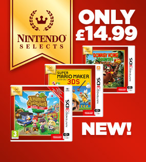 NEW Nintendo Selects Range, Animal Crossing New Leaf Welcome amiibo for 3DS