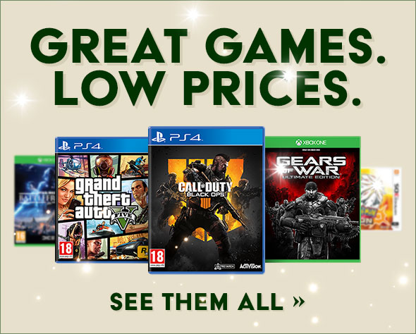 GREAT GAMES. LOW PRICES.