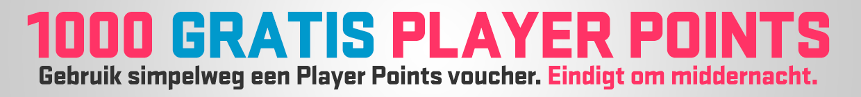 1000 FREE PLAYER POINTS