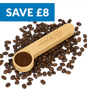 Wooden Coffee Clip and Spoon