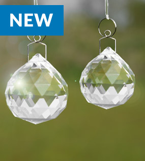 Crystal Sun Catcher with Hanging Kit | M&W