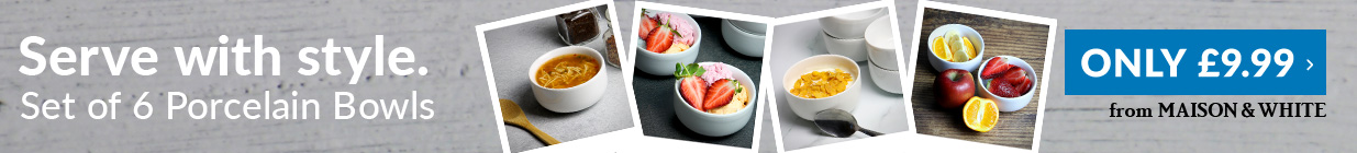300ml Porcelain Bowls