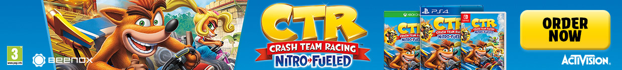 CRASH TEAM RACING NITRO
