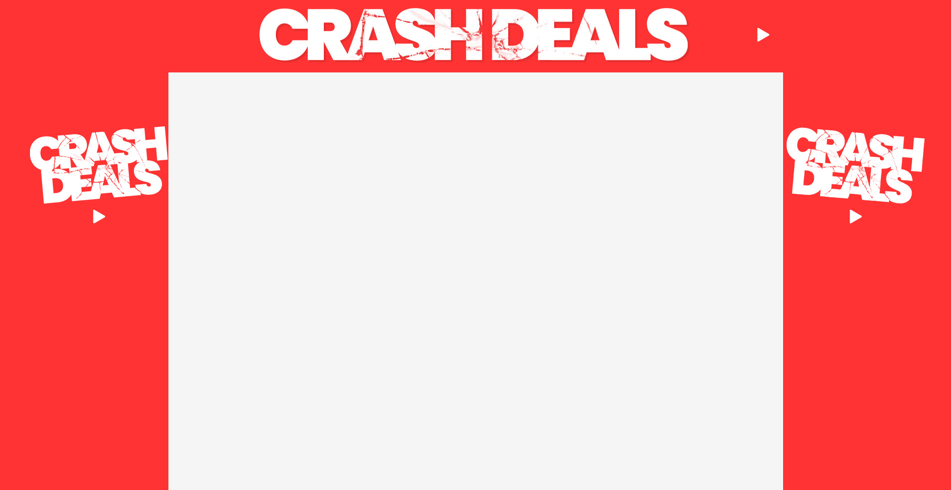 CRASH DEALS VOUCHER CODES