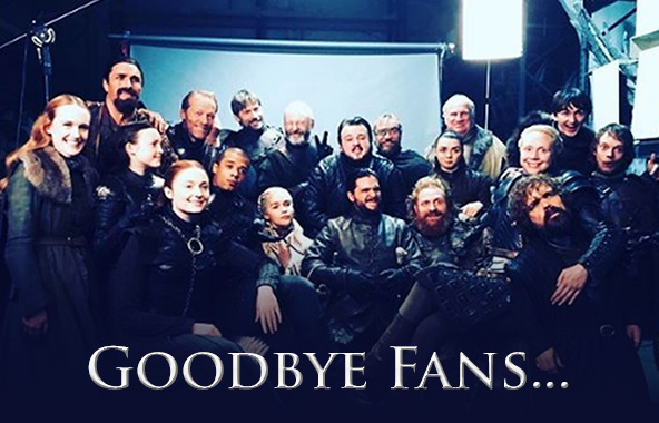 Game of Thrones Cast Say Goodbye To Fans