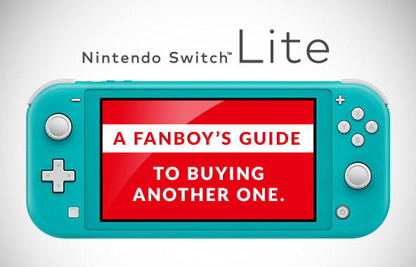 Nintendo Switch Lite : A Fan Boy's Guide To Buying Another One.