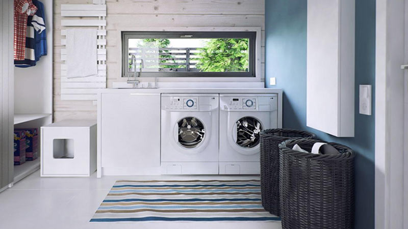 10. Start a wash cycle as soon as you get home.