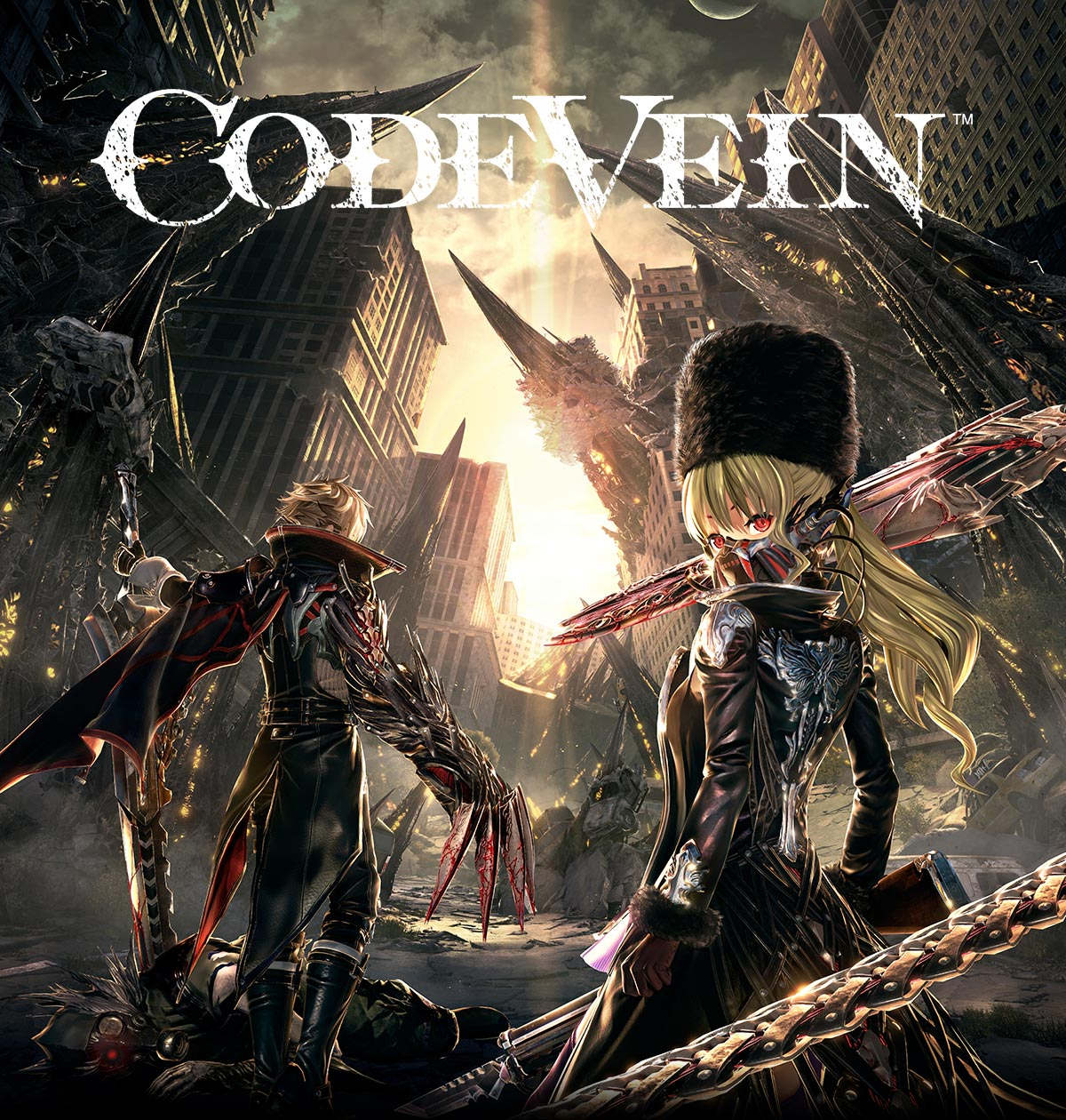 Code Vein for PlayStation 4 and Xbox One. Available to pre-order now