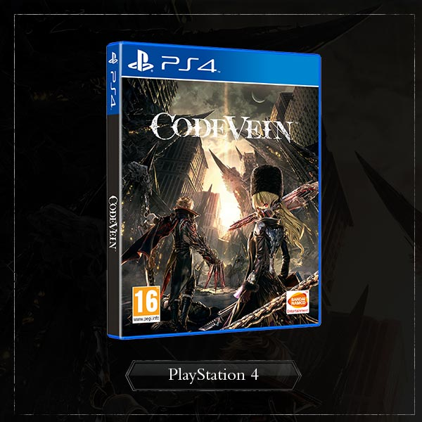 Pre-order Code Vein for PS4