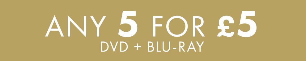 5 for £5   DVD + Blu-ray