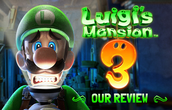 Luigi's Mansion 3. Our Review.