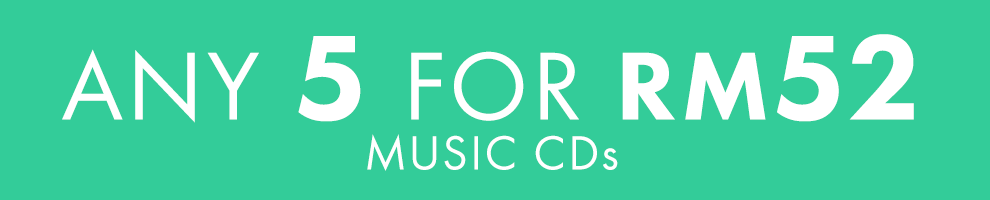 5 for RM52 | Music CDs