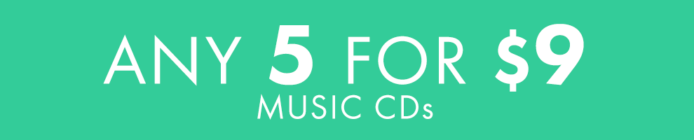 5 for $9 | Music CDs