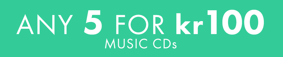 5 for kr 100 | Music CDs