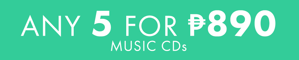 5 for ₱890 | Music CDs