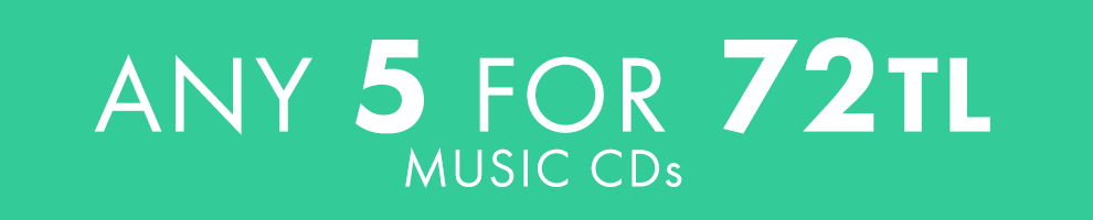 5 for 72TL   Music CDs