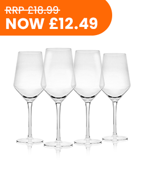 4 × Wine Glasses