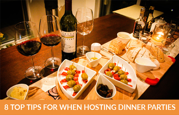 8 Top Tips For When Hosting Dinner Parties