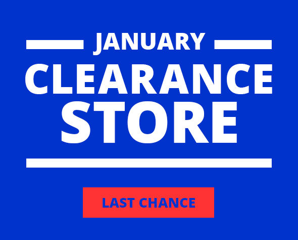 JANUARY CLEARANCE STORE