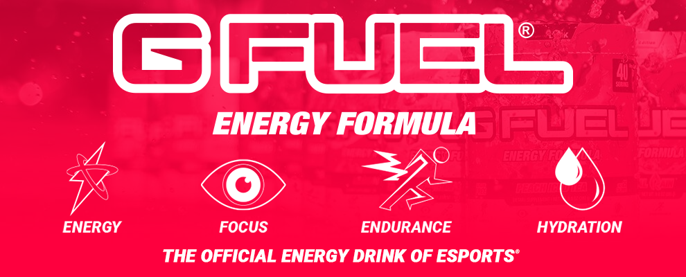 G FUEL Energy Formula: The Official Energy Drink of Esports