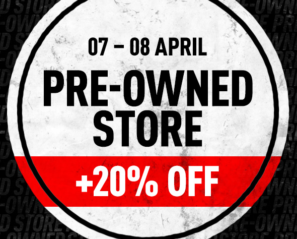 PRE-OWNED STORE 20% OFF