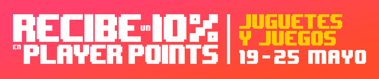 10% BACK IN PLAYER POINTS | TOYS AND GAMES