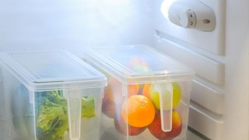 Plastic Food Preserving Containers
