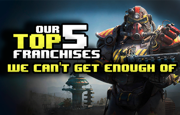 Our Top 5 Favourite Gaming Franchises