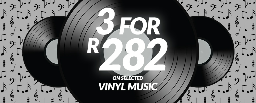 3 for R282 on Selected Vinyl Music