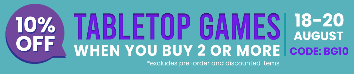 10% OFF TABLE TOP WHEN YOU BUY 2 OR MORE