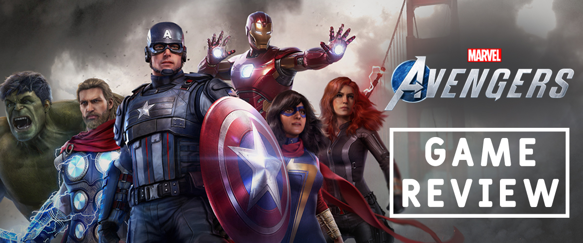 Marvel's Avengers Game Review - Blog Header Image