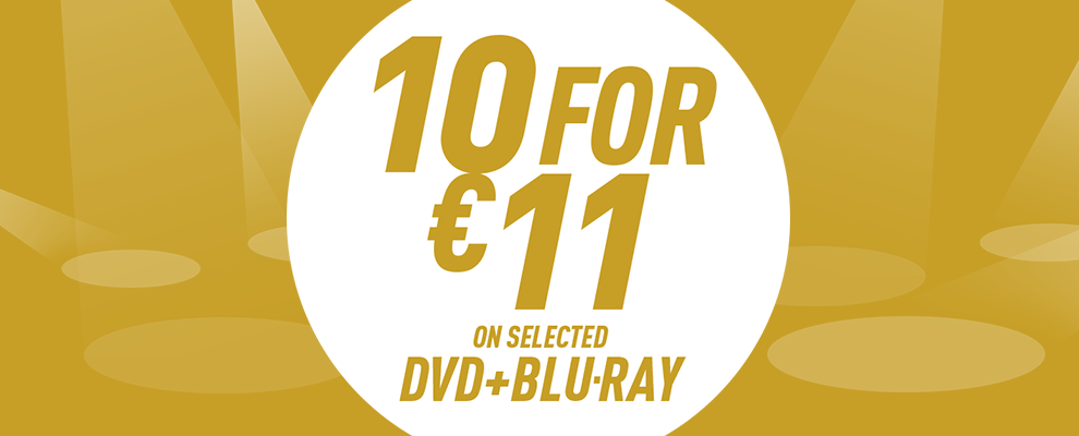 10 for €11 on Selected DVD & Blu-ray