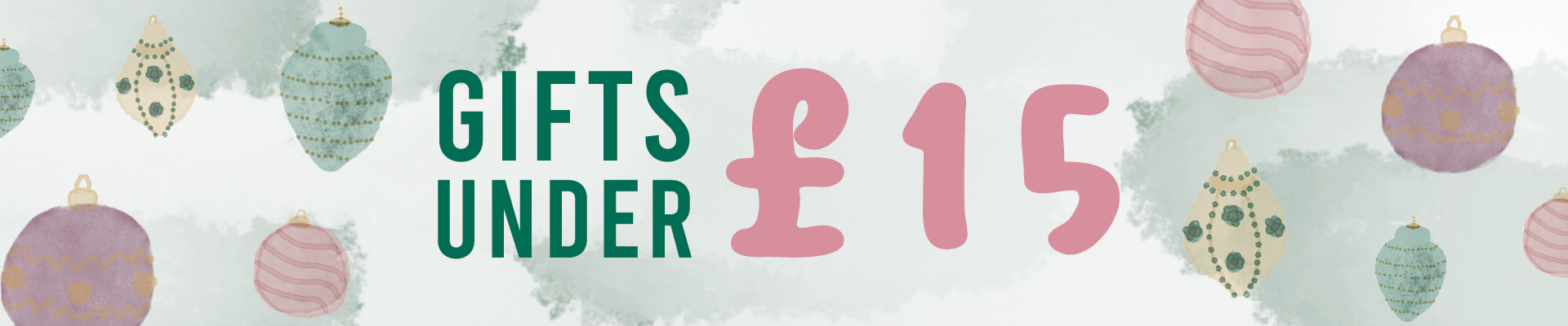 Gifts for under £15