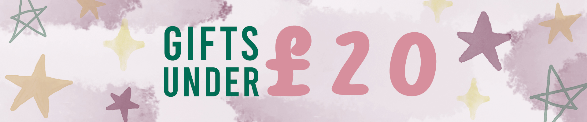 A selection of gifts for all your friends and family all for under £20!
