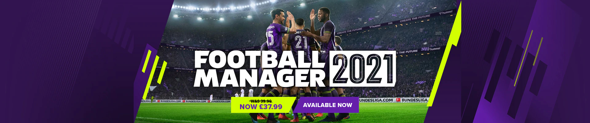 Football Manager 2021 Banner