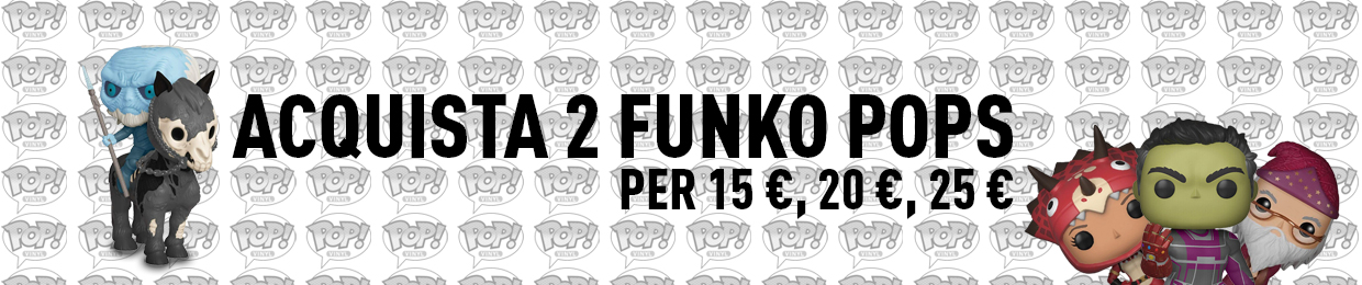 Buy 2 Funkopops for £15,£20,£35 Banner