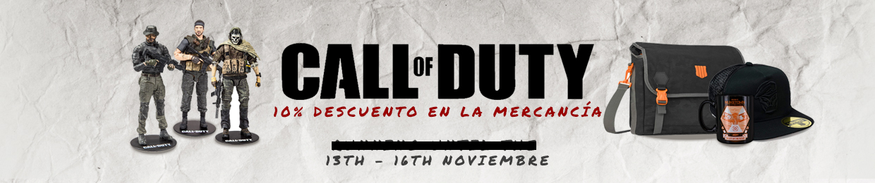 To celebrate the release of Call of Duty: Black Ops Cold War we're doing 10% Call of Duty merch! Check out the store