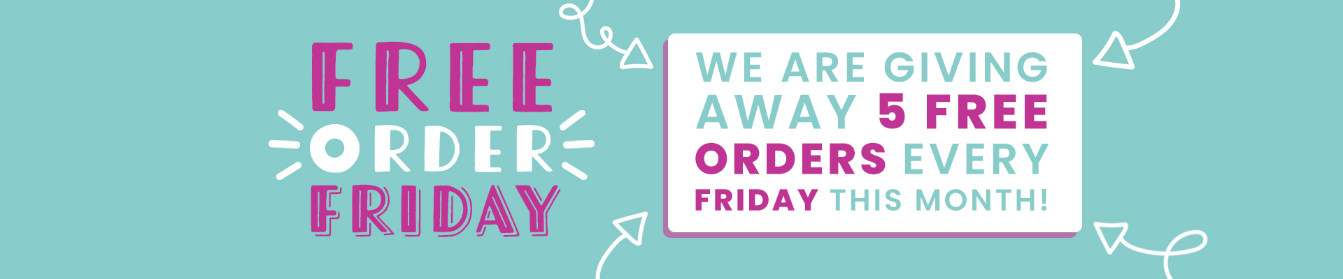 ROOV FREE ORDER FRIDAY