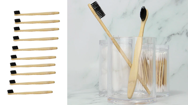 2. Bamboo Toothbrushes