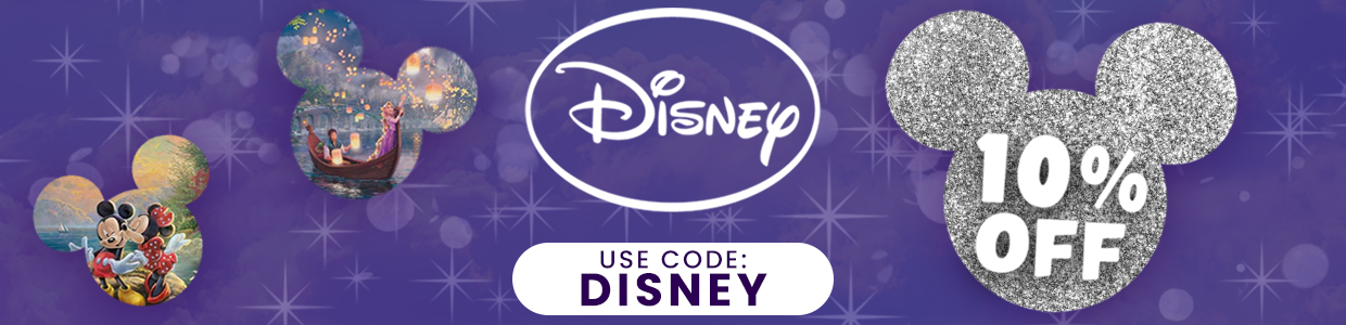 Get 10% off all of these amazing Disney products when you use the code 'DISNEY' at checkout!