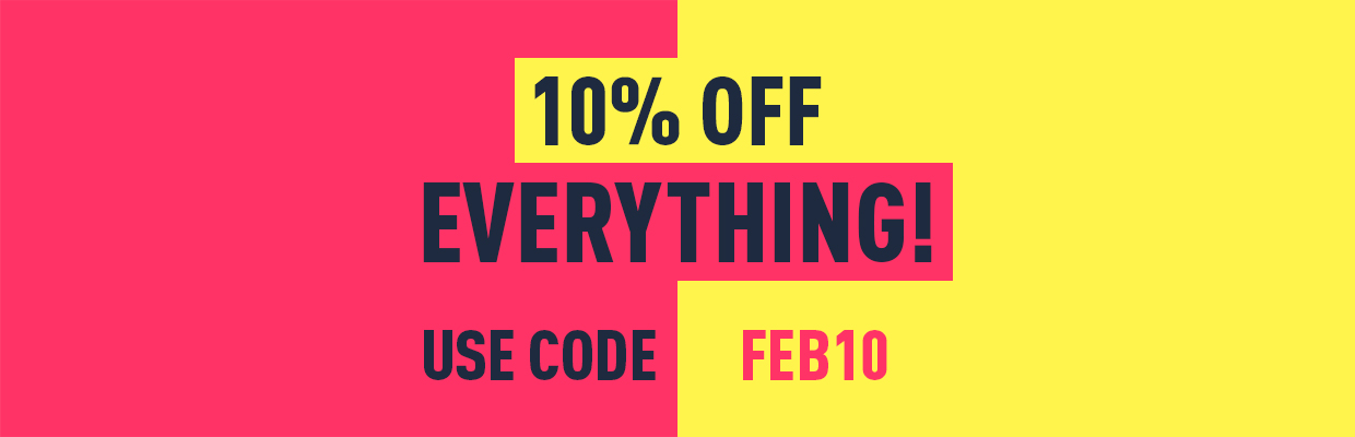 10% OFF Takeover