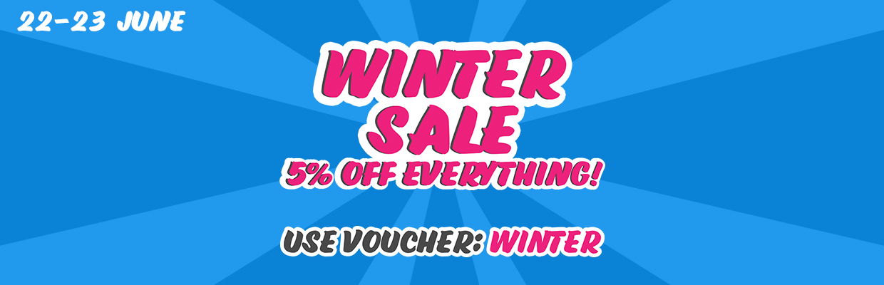 5% off EVERYTHING Winter Sale