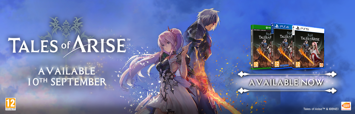 Tales of Arise Available Now