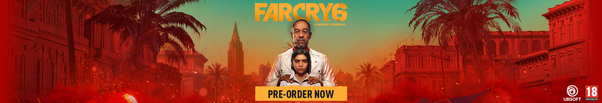 Pre-order Far Cry 6 today! Released 7th October 2021