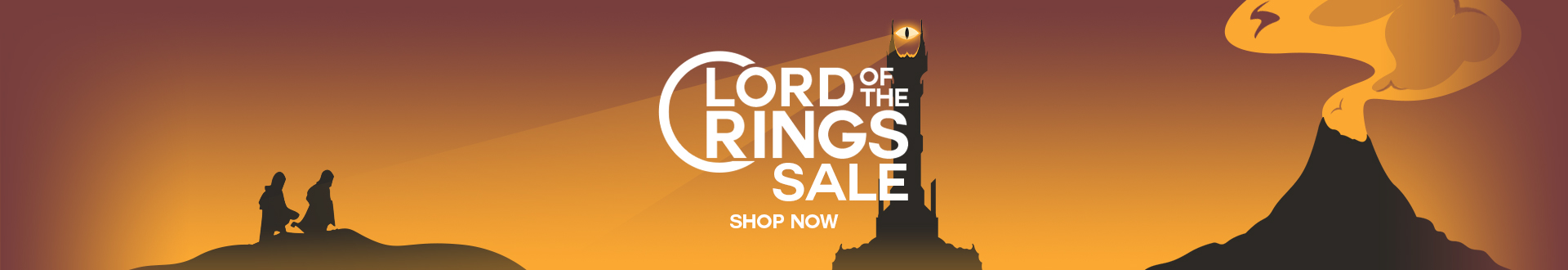 To celebrate hobbit day we're offering 5% off all Lord of the Rings products come shop around!