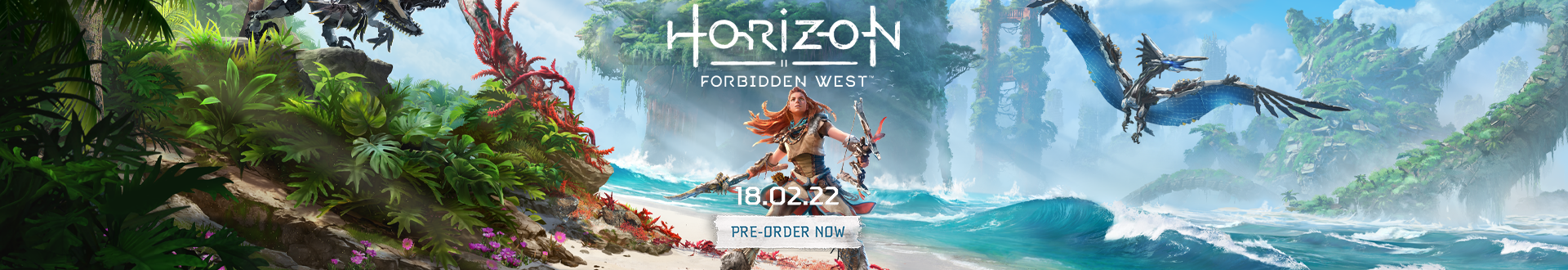 Join Aloy as she braves the Forbidden West, a deadly frontier that conceals mysterious new threats.