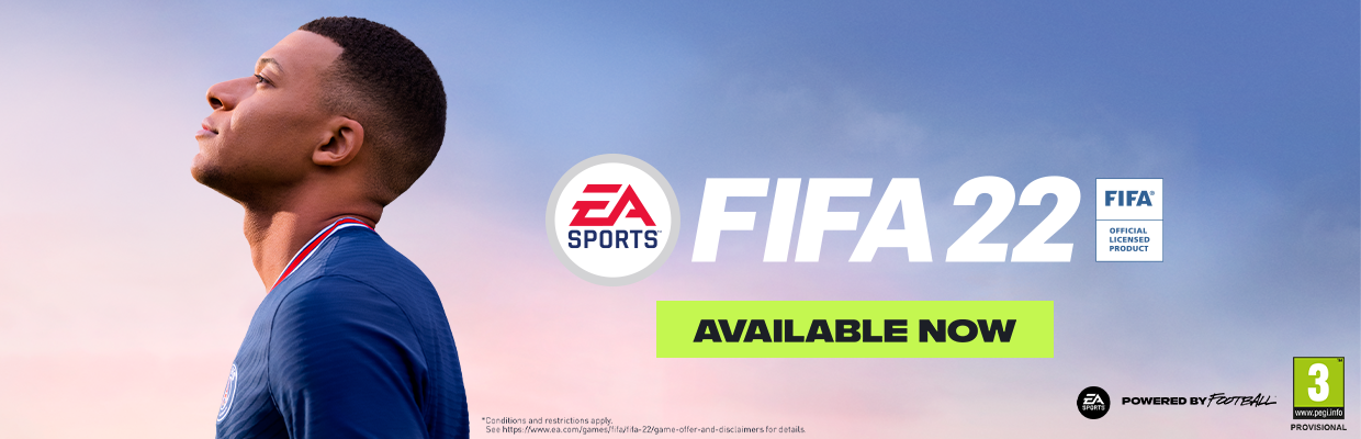FIFA 22 Available Now!