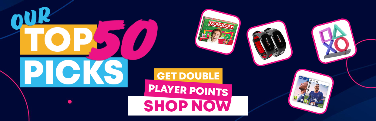 Our Top 50 Picks - Double Player Points